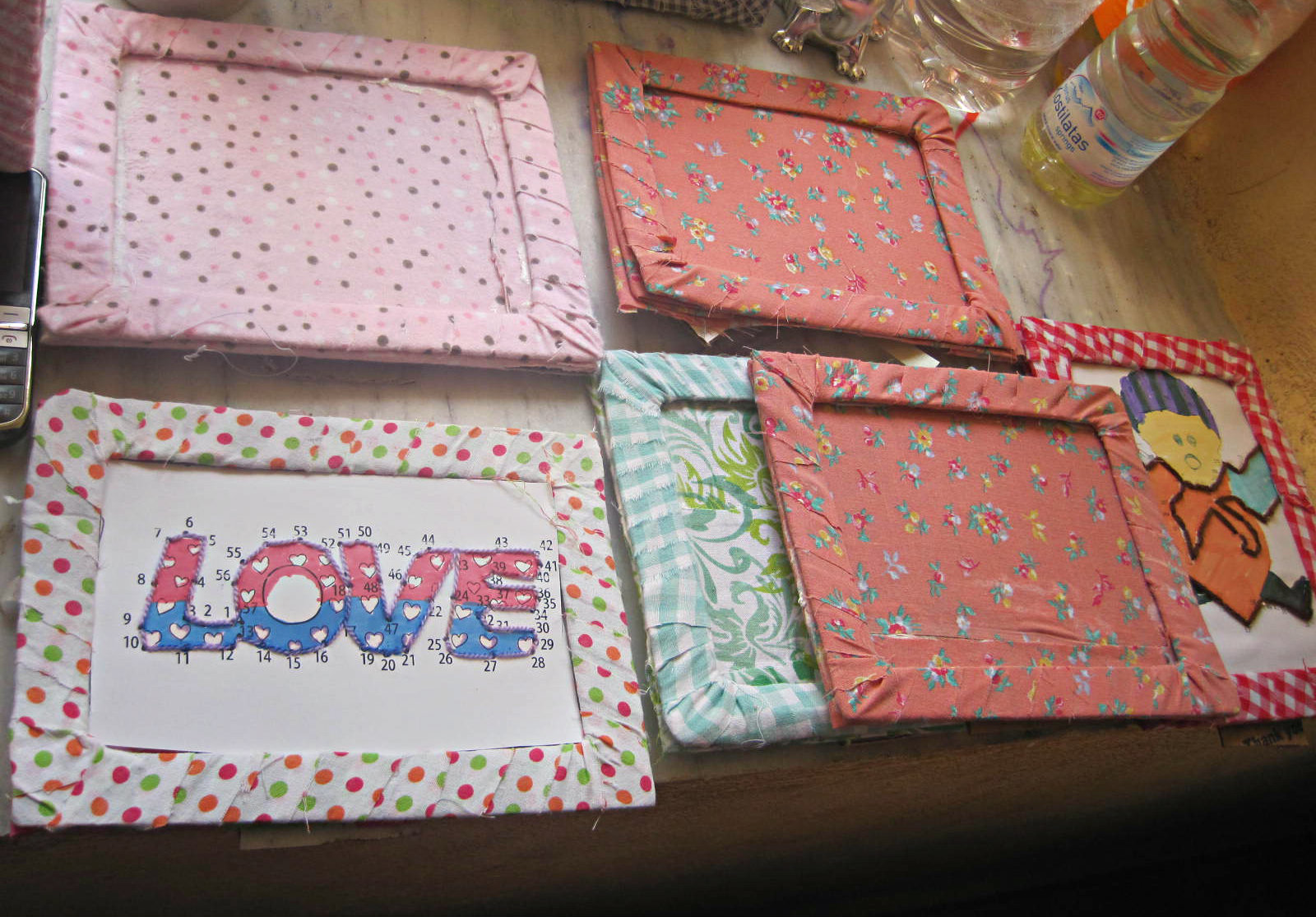 Bracelet & Picture Frame Making for Saranda Festival | The Art of Loving